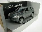 Porsche Cayenne Turbo 2002 Grey 1:43 Cararama Carbox